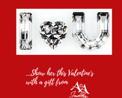 Gold Pendants and Earrings for Valentine's Starting at $99.00
