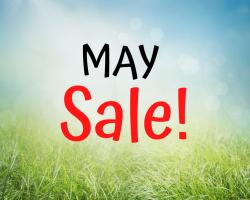 May Sale! Facebook Live, Friday May 15th at 2PM