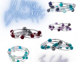 New bracelets and pendants!