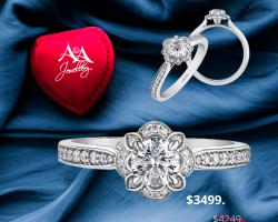 Valentine's Engagement Ring Sale